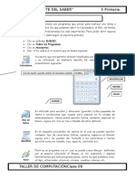 2.- Primaria 5 - Accesorios de Windows