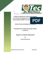 Informe Tecnico Lizeth Resendiz Celis