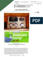 Shed 12v Solar Lighting System_ 5 Pasos (Con Fotos)