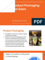 Product Packaging and Sales _ Ajay Kumar T