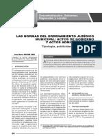 Normas Del Ordenamiento Municipal - Autor José María Pacori Cari