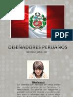 5 DISEÑADORES PERUANOS