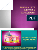 Surgical Site Infection – Management