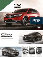 CR V2018brochure