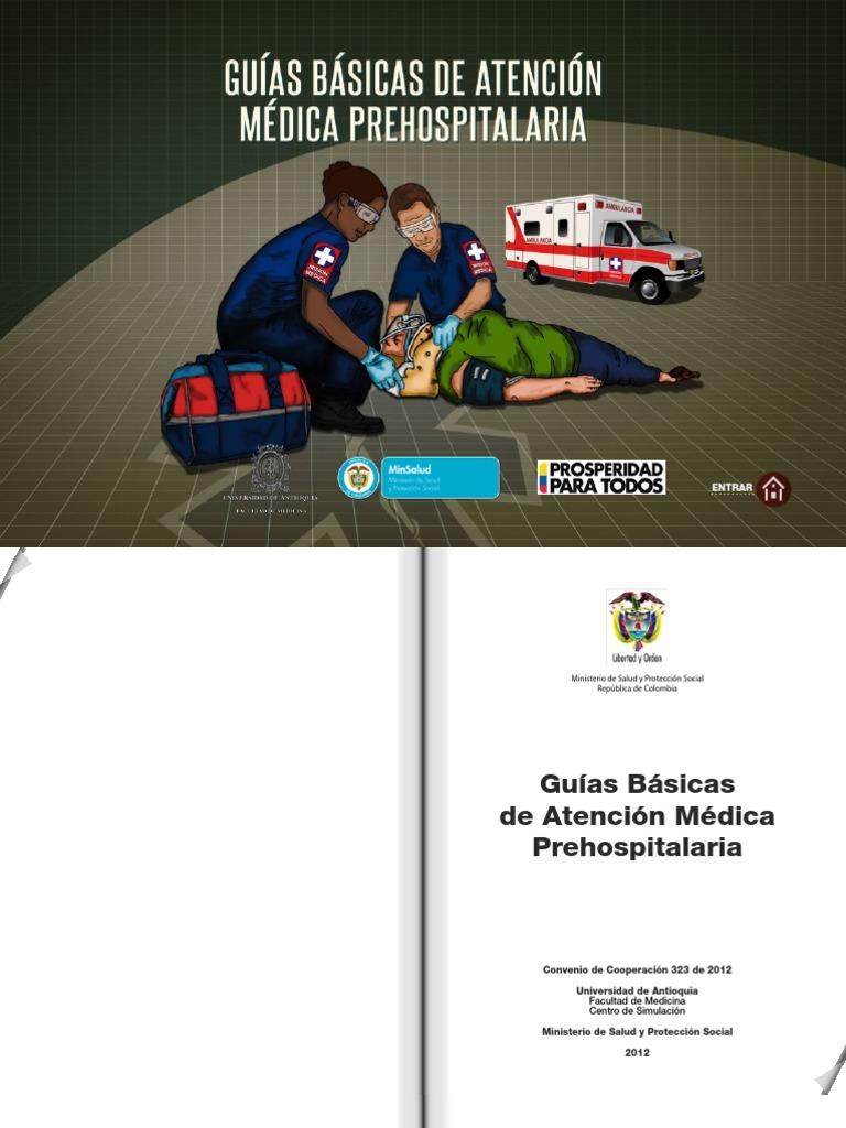Guias Medicas de Atencion Prehospitalaria