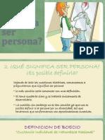 2.Que Significa Ser Persona