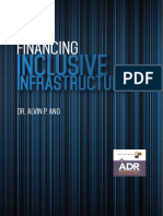 Financing Inclusive Infrastructure