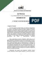 O Estado Do Estado Em Angola - Cesaltina Abreu