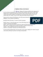 Depilage LLC Releases New Epilation Mask on the Internet