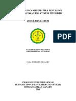 Penuntun Dan Sistematika Praktikum Kimia Organik