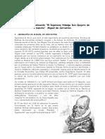 CONTEXTUALIZACION DON QUIJOTE DE LA MANCHA.doc