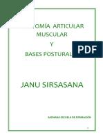 4º Bases Posturales Janu Sirsasana