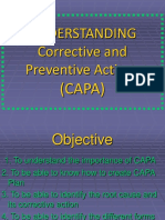 Understanding the Corrective and Preventive Actions