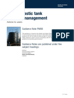 Thermoplastic Tank Integrity Management