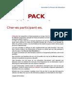 Info Pack Participants