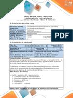 Guía de Actividades y Rubrica de Evaluación Fase 2 Identificar El Problema Central Del Caso de Estudio