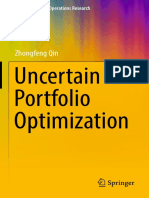 Uncertain Portfolio Optimization