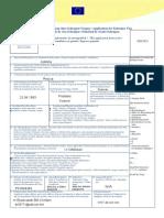 Formular C - Schengenvisum111