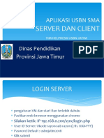 Aplikasi Server Dan Client USBN