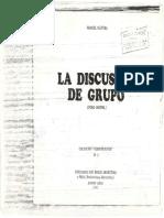 Discusion de Grupo Olivera