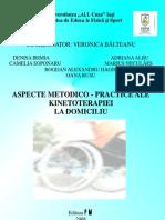 Aspecte Metodico-practice Ale Kinetoterapiei La Domiciliu