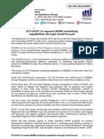 04_04_2018 PRU-060NR DTI-DOST to Expand MSME Marketing Capabilities Through OneSTore.ph
