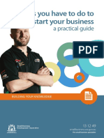 Building Your Knowledge Things You Have to Do to Start Your Business 1
