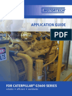 Application Guide for Caterpillar G3400 Series