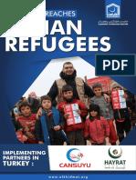 Alkhidmat Reaches Syrian Refugees 2018
