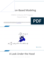 Equation Based Modeling