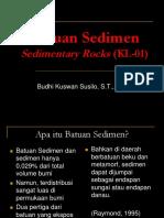 Pengantar Batuan Sedimen