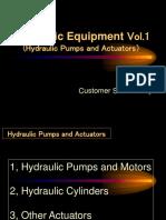 Hydraulic Equipment Vol.1 Pumps and Actuators 070704