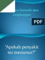 Dokumensaya.com Interaksi Genetik Dan Lingkungan