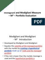 Modigliani and Modigliani Measure – M2 – Portfolio