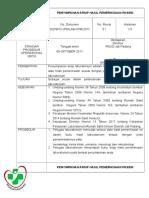 2. Sop Penyimpanan Arsip Hasil Pemeriksaan Pasien