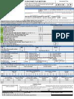 ITR Form-1 (Sahaj)