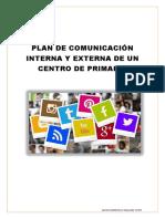 Plan de Comunicación Interna y Externa de Un Centro de Primaria