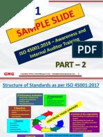 ISO 45001:2018 Auditor Training