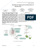 Spatial Relationship Based Approach for Detection of Hookworm