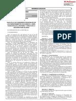 Faculta a Los Gobiernos Regionales de Los Departamentos de h Decreto de Urgencia n 001 2018 1606299 1