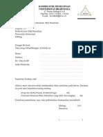1. Surat Permohonan Laik Etik