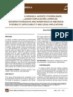 9 - Usucapião e a Herança Jacente Possibilidade Aplicabilidade e Implicações Jurídicas(1)