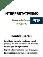 Apresentação - Interpretativismo - 28-06