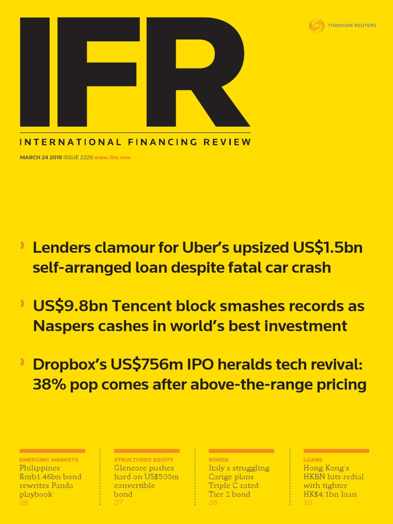 IFR Magazine March 24 2018 | Bonds (Finance) | Stocks