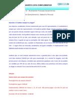 Financas Gabaritos Parcial Lista Suplementar Aula 8