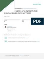 Report of Design PISTON