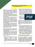 Lectura - Intermediación Laboral y Terciarización Laboral