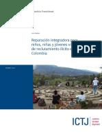 Ictj_ Informe Colombia_ Reparación Reclutamiento Ilegal 2014