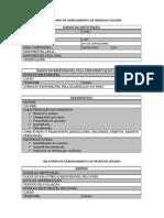 Modelo de PGRS