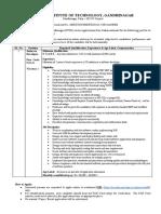 Advt IMS Software Developer-03-2018